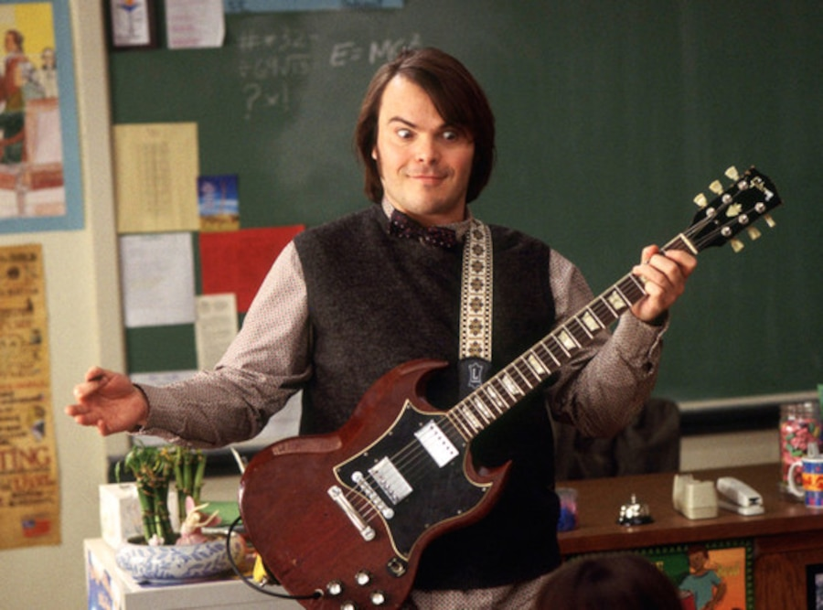 Jack Black, School of Rock, Onscreen Teacher