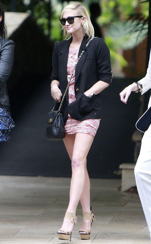 Ashlee Simpson, Jessica Simpson Baby Shower