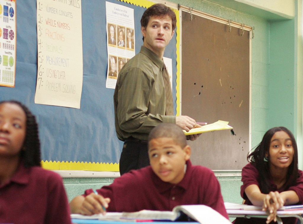 Jim True-Frost, The Wire, Onscreen Teachers