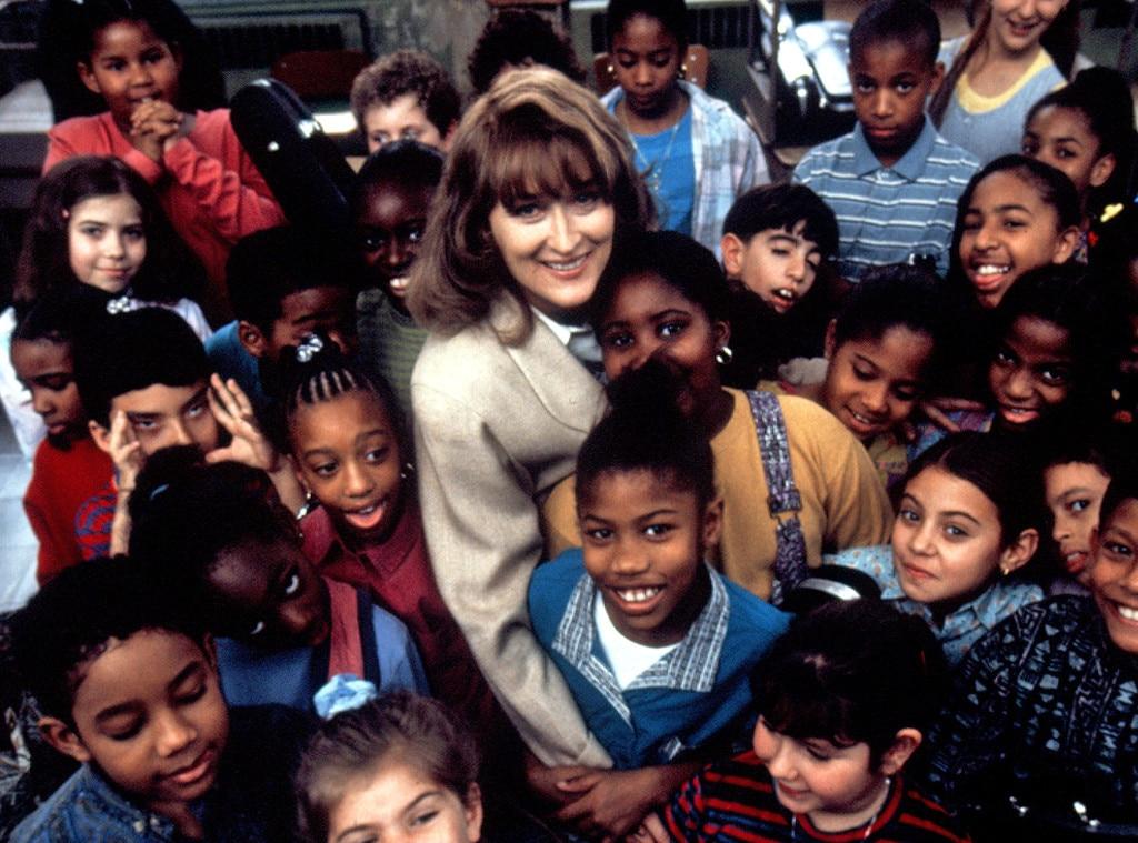 Meryl Streep, Music of the Heart, Onscreen Teachers