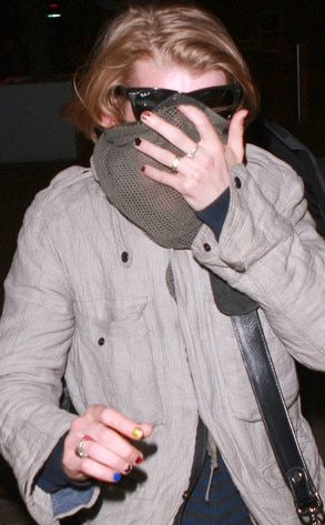 Macaulay Culkin, nail polish