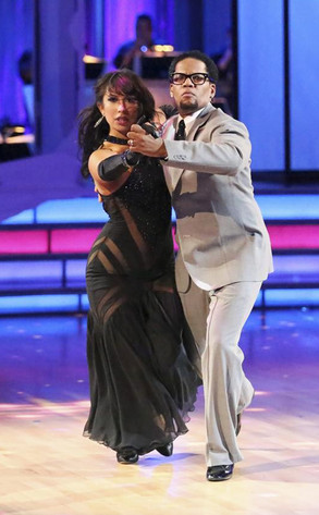 Cheryl Burke, D.L. Hughley, Dancing With The Stars