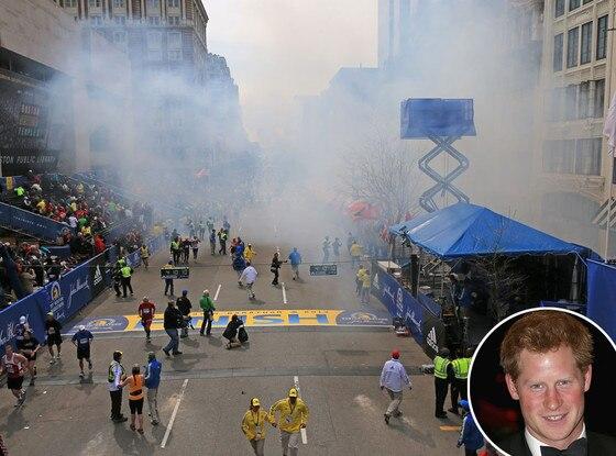 Boston Marathon Explosions, Prince Harry