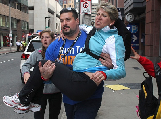 Joe Andruzzi, Boston Marathon Explosions