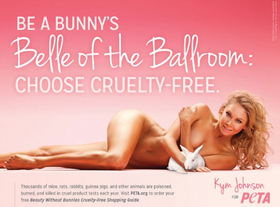 Kym Johnson, PETA