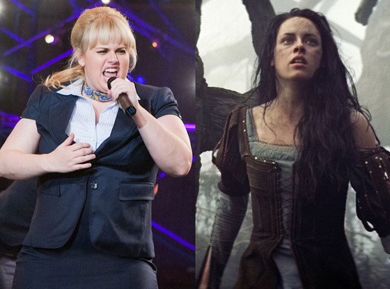 Kristen Stewart, Snow White and the Huntsman, Rebel Wilson, Pitch Perfect