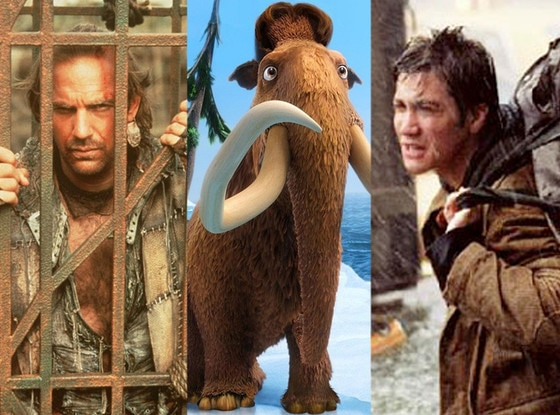 Waterworld, Kevin Costner, Ice Age: Continental Drift, The Day After Tomorrow, Jake Gyllenhaal