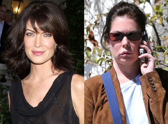 Lara Flynn Boyle, Then and Now