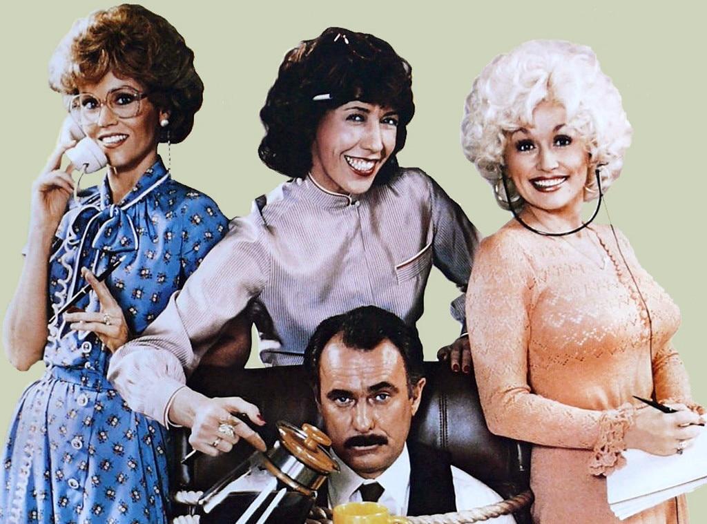 Nine to Five, Jane Fonda, Lily Tomlin, Dolly Parton, Dabney Coleman, Onscreen Assistants