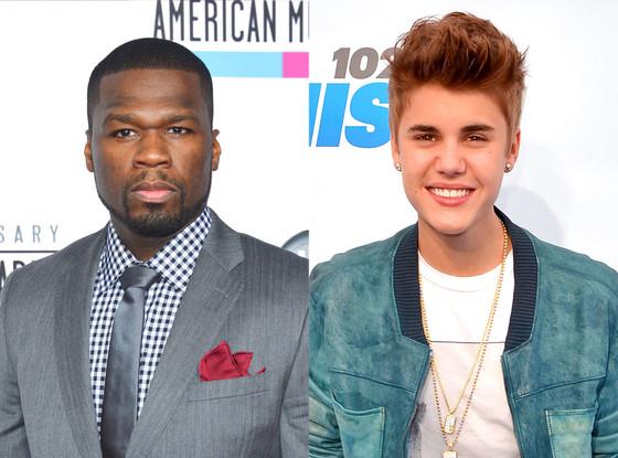 50 Cent, Justin Bieber
