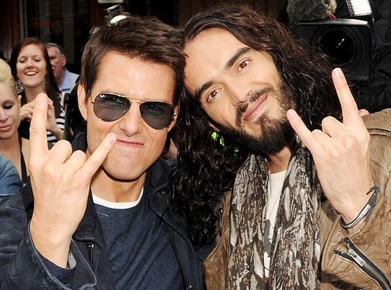 Tom Cruise, Russell Brand