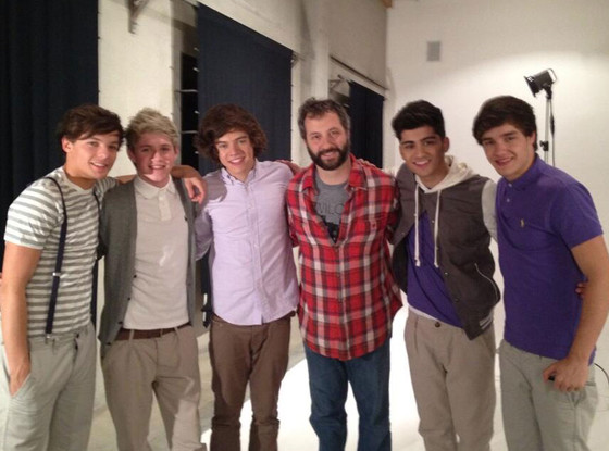 One Direction, Judd Apatow, Twit Pic