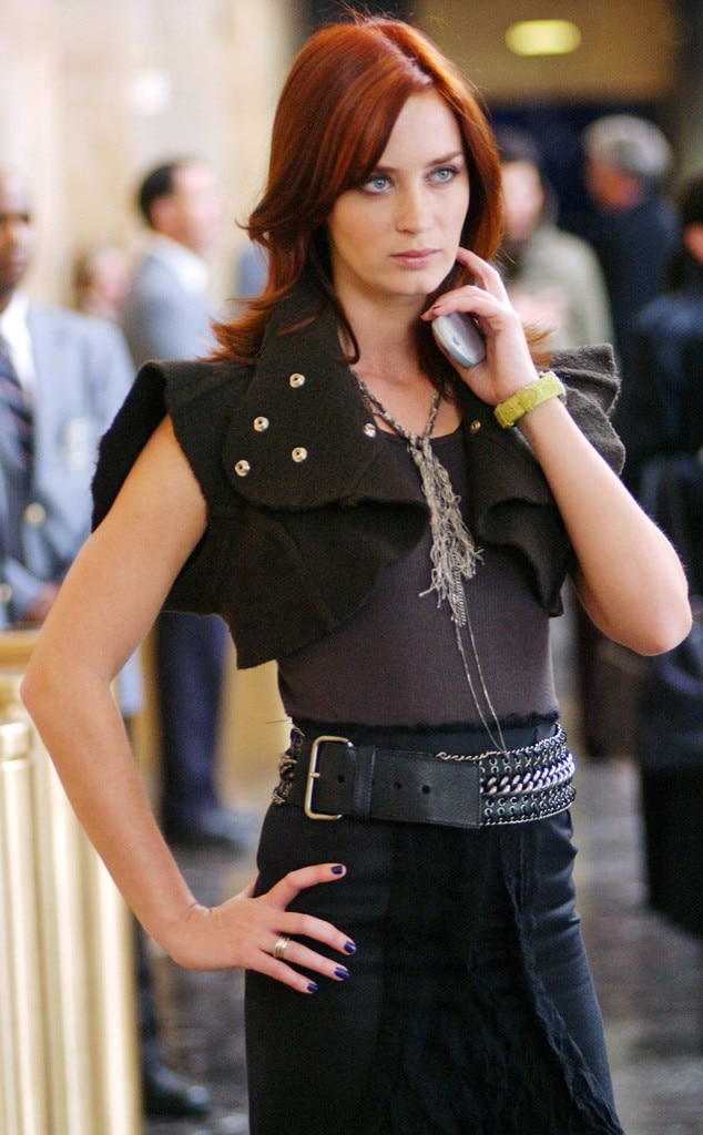 Emily Blunt, The Devil Wears Prada, Onscreen Assistants
