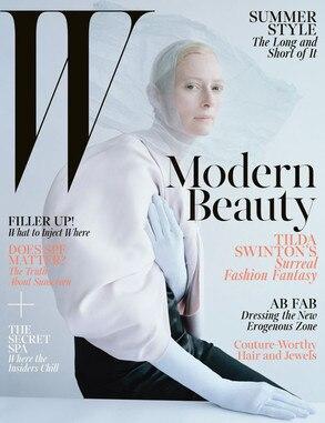 Tilda Swinton, W Magazine
