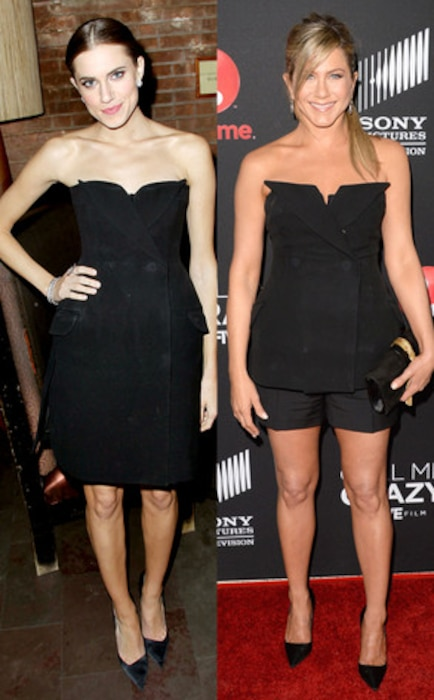 Allison Williams, Jennifer Aniston