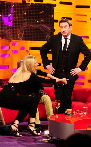 Gywneth Paltrow, Lee Mack, Graham Norton Show