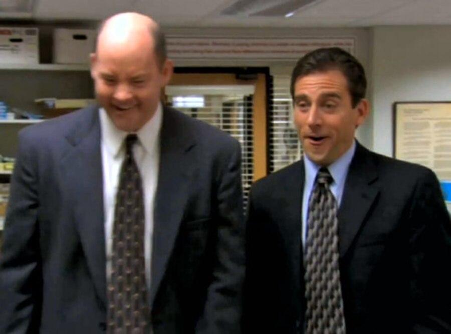 David Koechner, Steve Carell, The Office