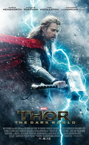 Chris Hemsworth, Thor The Dark World, Poster