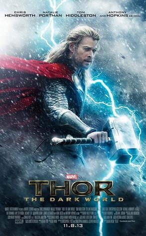 Chris Hemsworth, Thor The Dark World, Poster