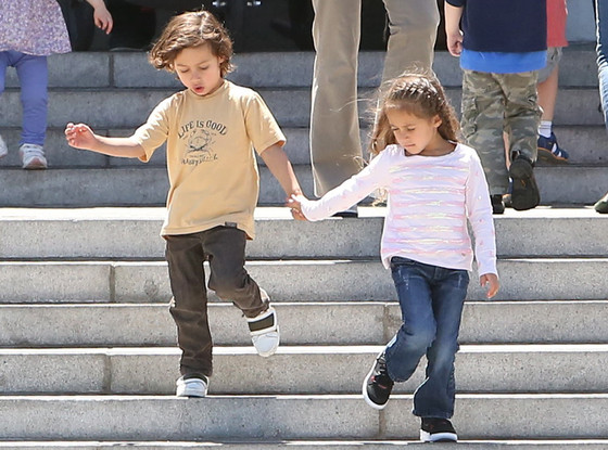 Max, Emme, Jennifer Lopez, Marc Anthony
