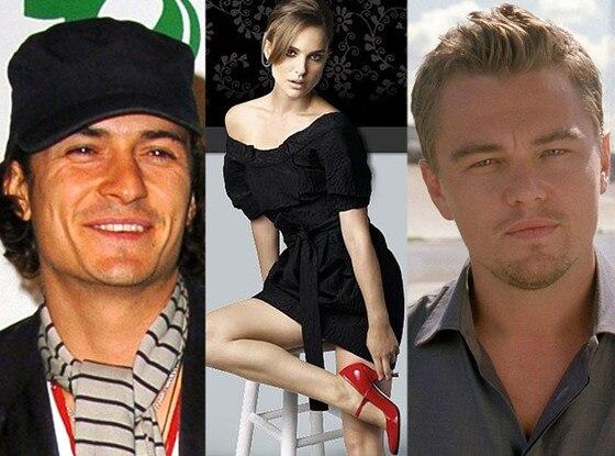Orlando Bloom, Natalie Portman, Leonardo DiCaprio