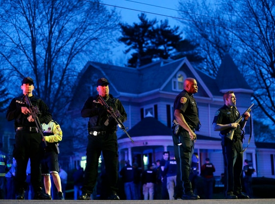Watertown, Police, Boston Bombing