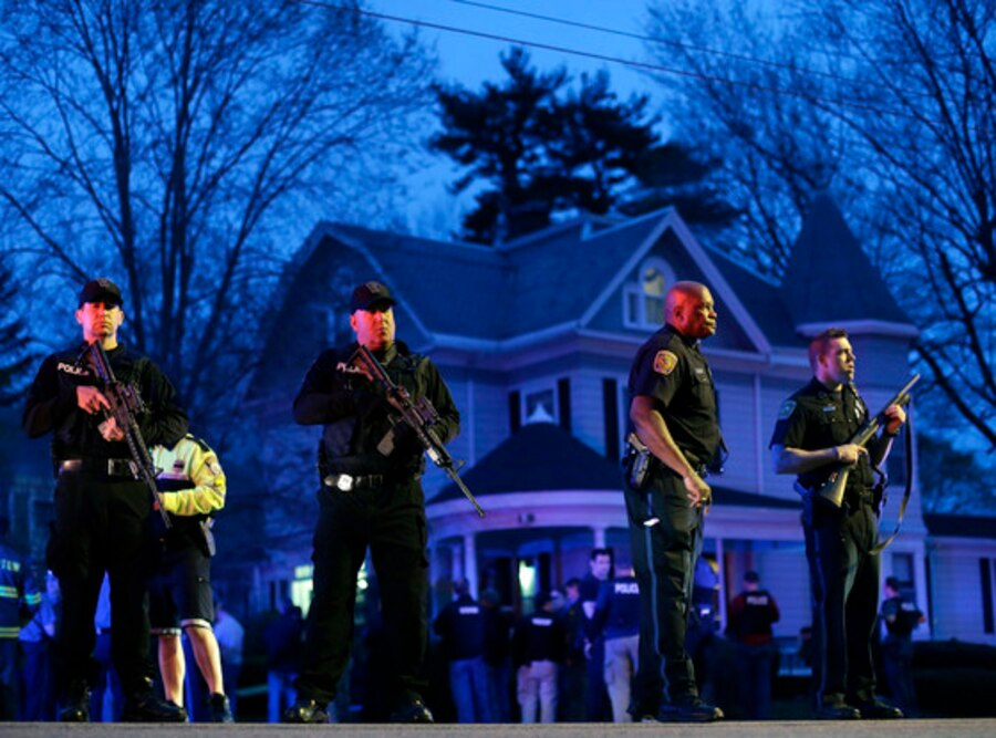 Watertown, Police, Boston Bombing
