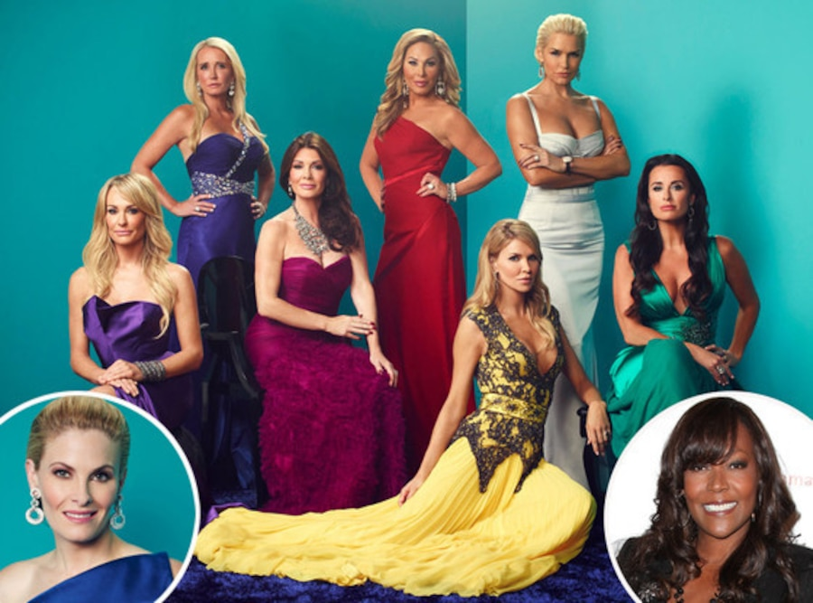 Real Housewives of Beverly Hills Cast, Baroness Monica Von Neuman, Marisa Zanuck