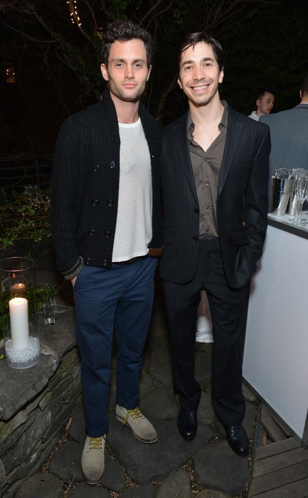 Penn Badgley, Justin Long