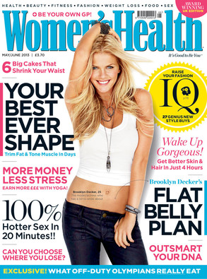 Brooklyn Decker, Womens Health UK
