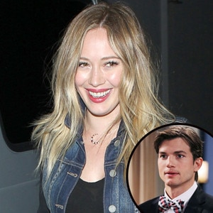 Ashton Kutcher, Hilary Duff