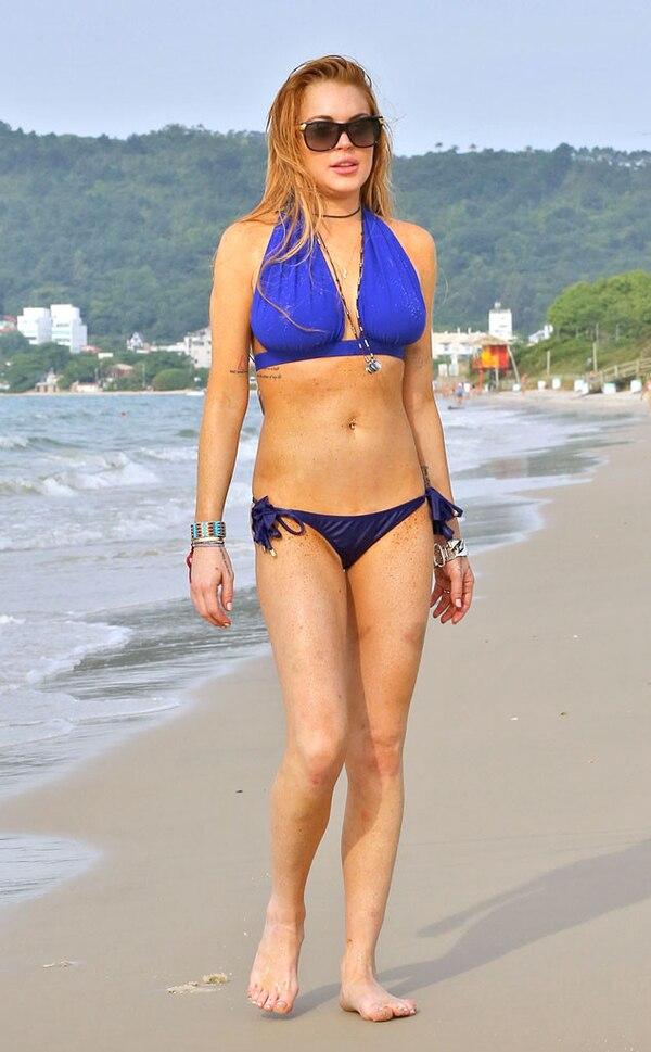 Lindsay Lohan from Bikini Gallery