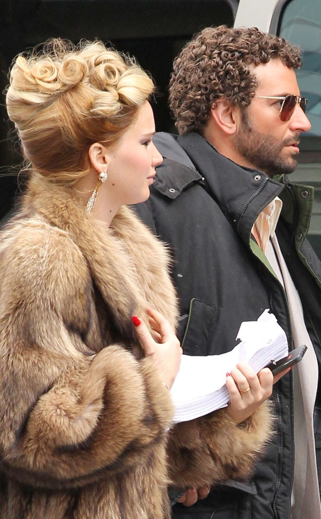 Hair Transformations, Jennifer Lawrence, Bradley Cooper