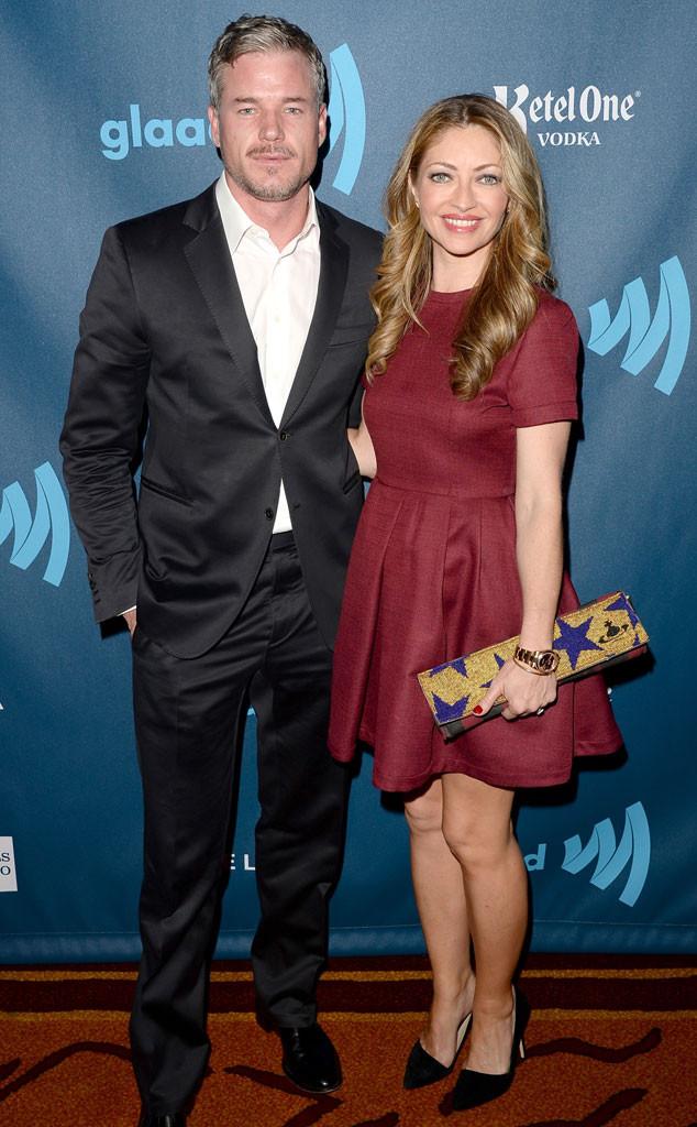 Eric Dane, Rebecca Gayheart, GLAAD Media Awards