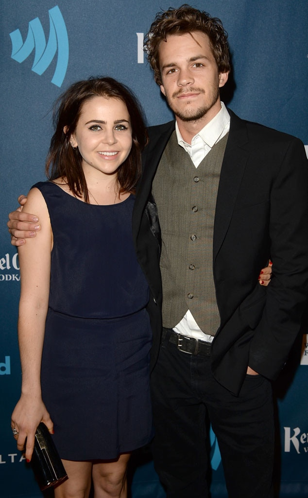 Mae Whitman, Johnny Simmons, GLAAD Media Awards