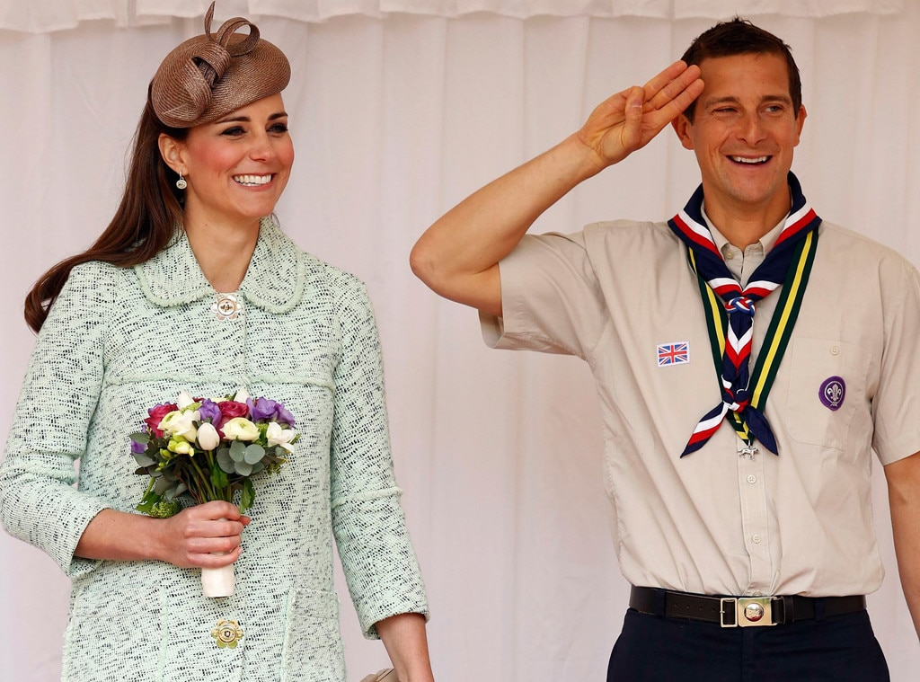 Duchess Catherine, Kate Middleton, Bear Grylls