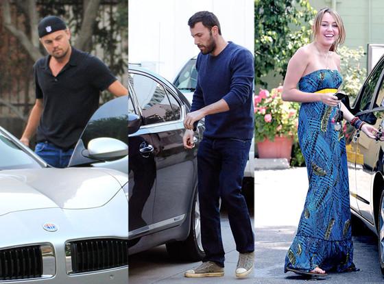 Leonardo DiCaprio, Ben Affleck, Miley Cyrus