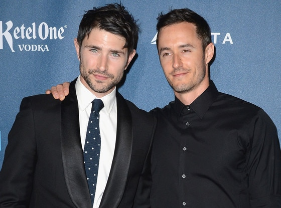 Matt Dallas, Blue Hamilton, GLAAD Media Awards