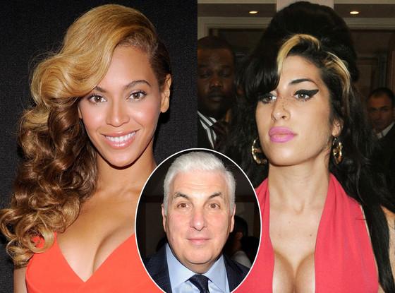 Mitch Winehouse, Beyonce, Amy Winehouse
