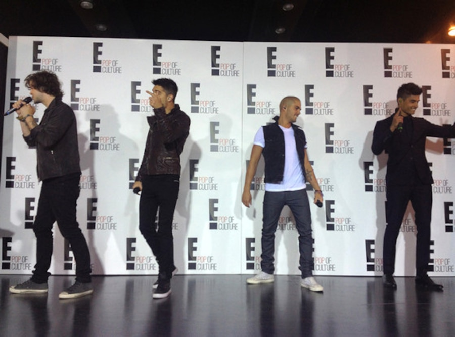 The Wanted, E! Upfronts