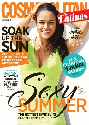 Michelle Rodriguez, Cosmopolitan for Latinas