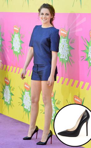 Kristen Stewart, Black Pumps