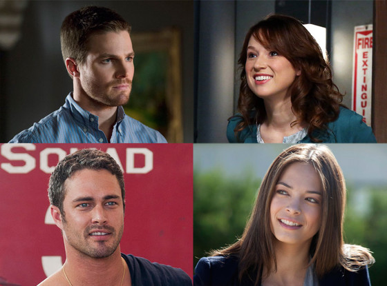 Taylor Kinney, Chicago Fire, Ellie Kemper, The Office, Stephen Amell, Arrow, Kristin Kreuk, Beauty and  the Beast