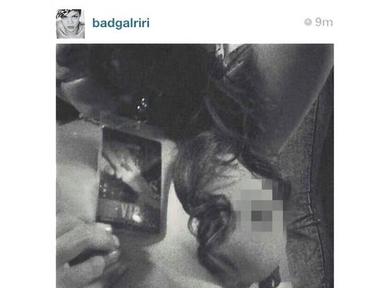 Rihanna, Twit Pic