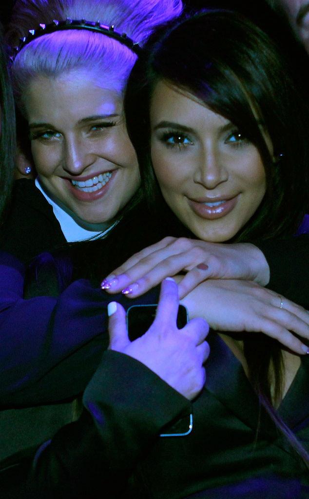 Kim Kardashian, Kelly Osbourne, Upfronts