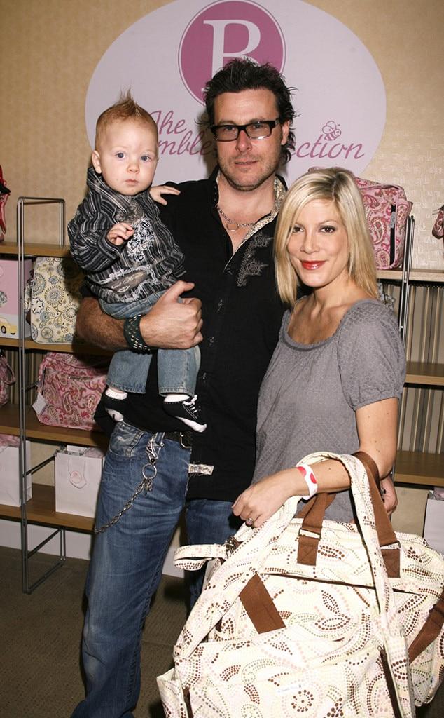 Tori Spelling, Dean McDermott, Liam, Celebrity Babies