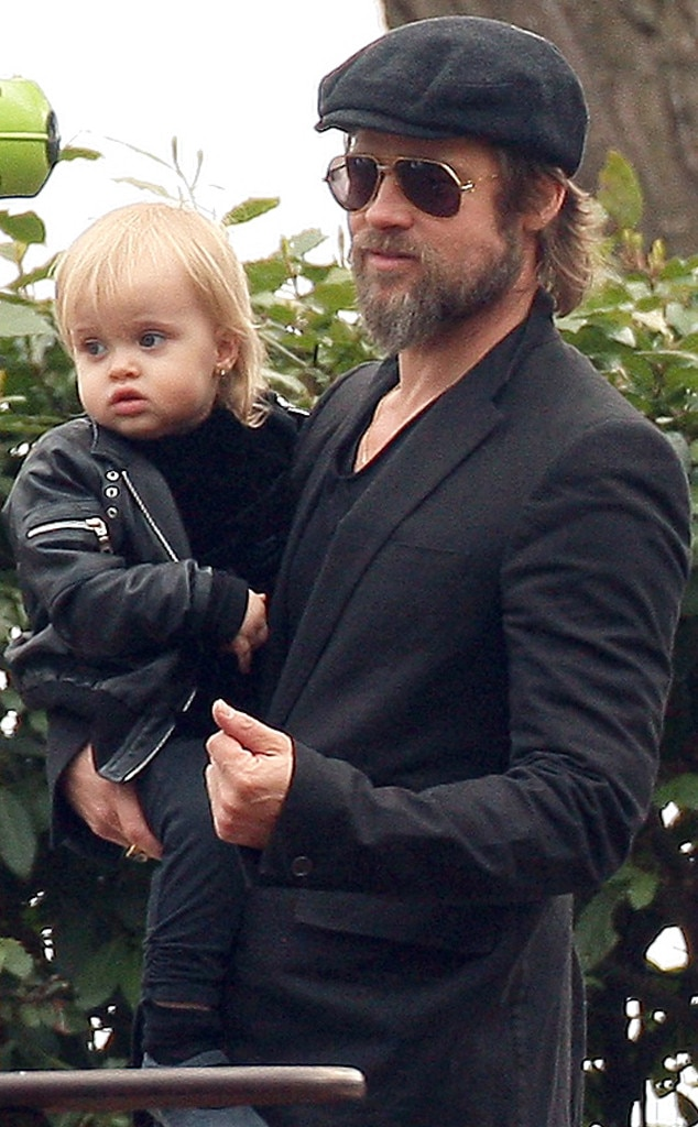 Brad Pitt, Vivienne Jolie-Pitt, Celebrity Babies