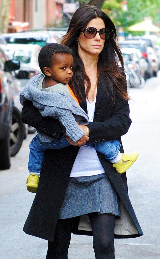 Sandra Bullock, Louis Bullock, Celebrity Babies