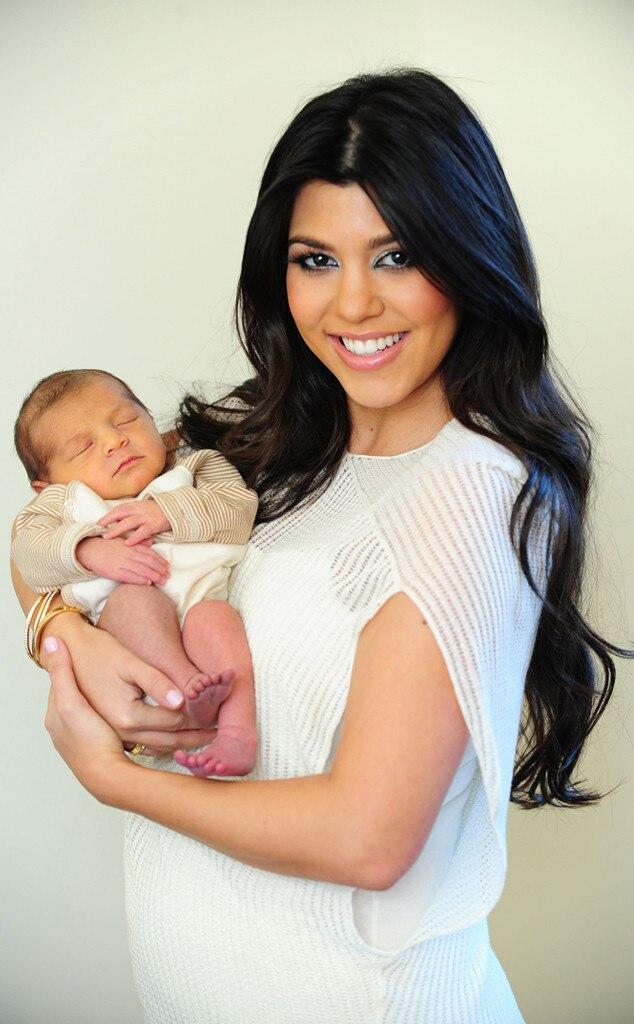 Kourtney Kardashian, Mason Disick, Celebrity Babies