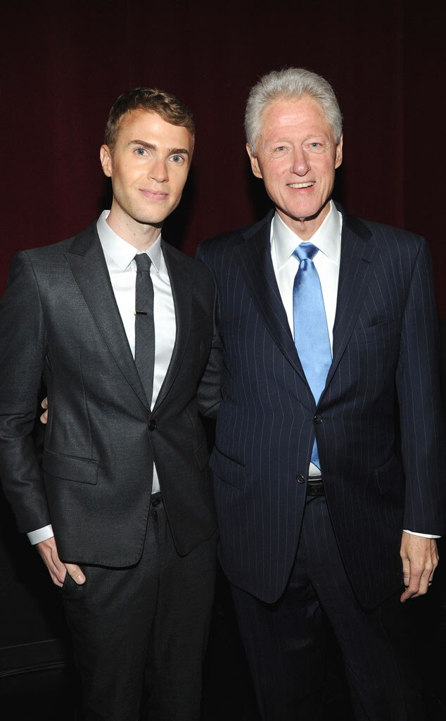 Shane Bitney Crone, Bill Clinton